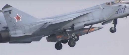 racheta hipersonica kinzhal Rusia