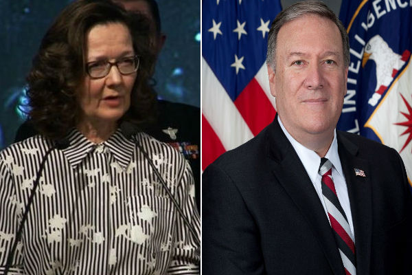 Gina Haspel - Mike Pompeo